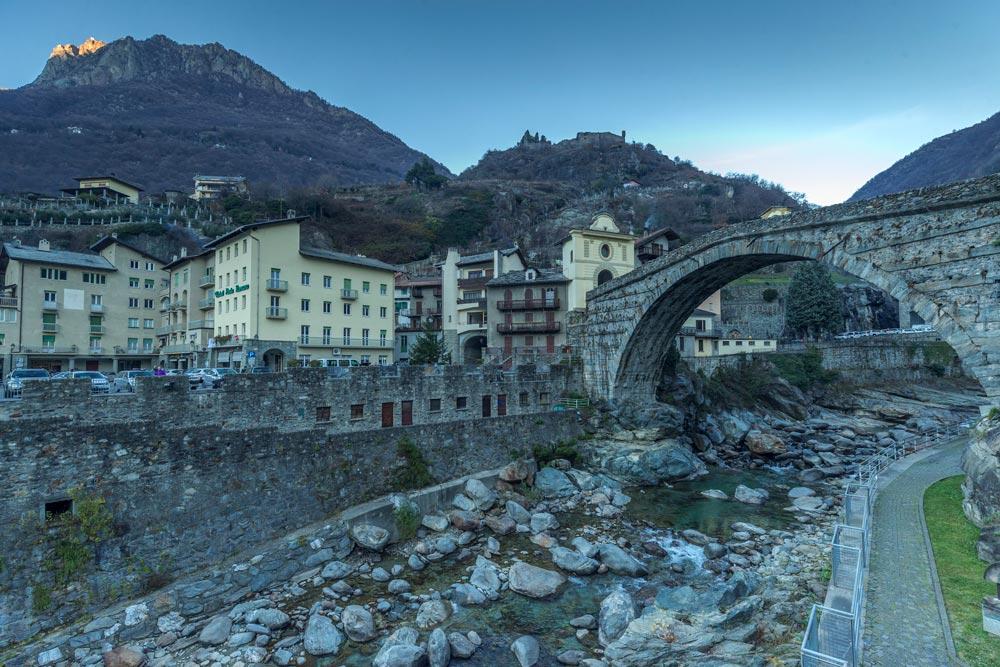 Ponte romano valle d'Aosta